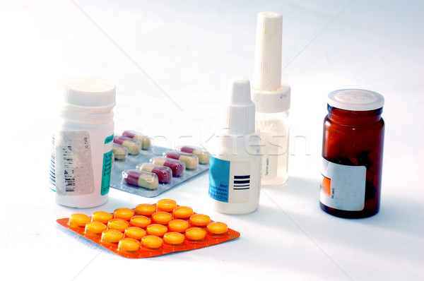 Medicines and drugs Stock photo © photocreo