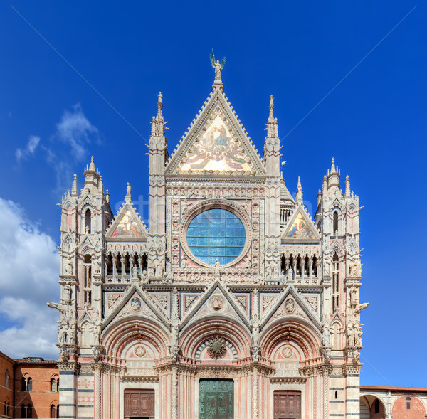 Siena Cathedral, Duomo di Siena in Siena, Italy, Tuscany region.  Stock photo © photocreo