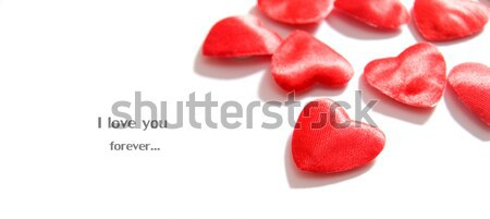 Love background. Hearts composition Stock photo © photocreo