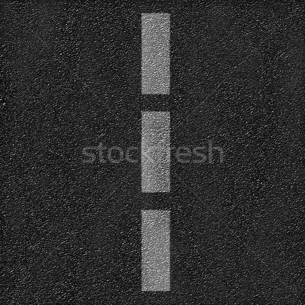 Asfalt rutier linie textură model şosea Imagine de stoc © photocreo