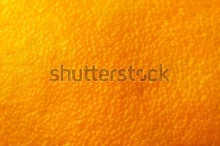 Orange fruit rind natural background, close up, macro Stock photo © photocreo
