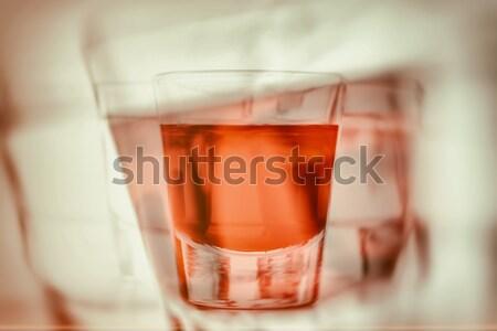 Abstrato primeiro pessoa perspectiva bêbado outro Foto stock © photocreo