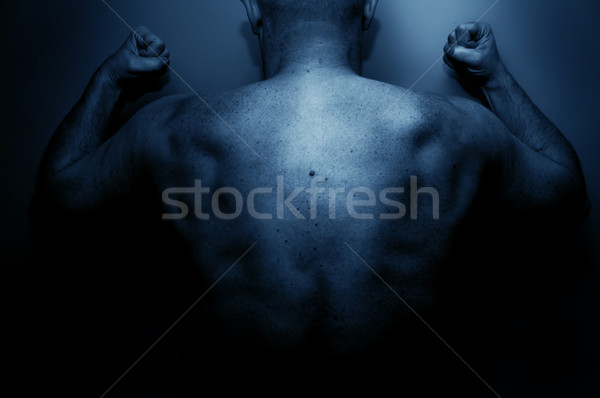 Frustrated man expressing his anger Stock photo © photocreo