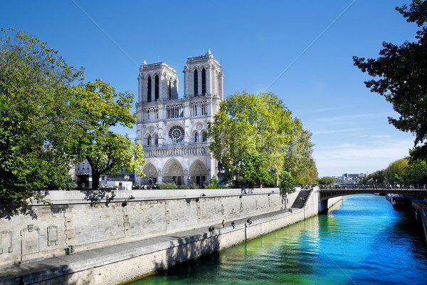 Notre Dame Cathedral, Paris, France. Stock photo © photocreo