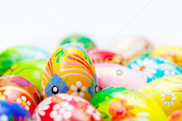 Easter eggs raccolta primavera modelli arte Foto d'archivio © photocreo