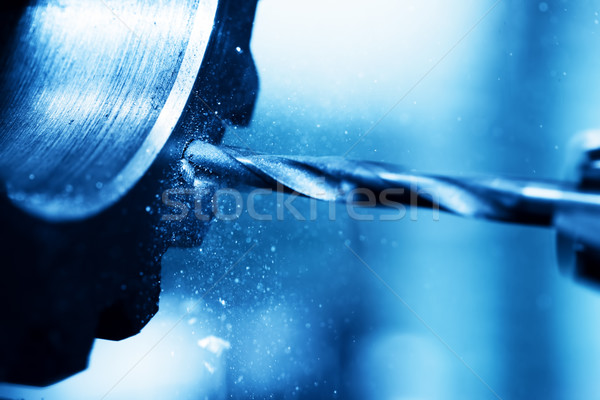 Boren vervelend machine werk industrie Stockfoto © photocreo
