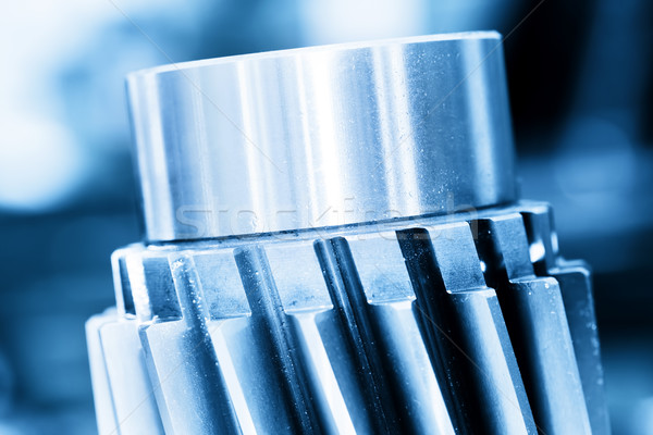 Ağır endüstriyel vida sanayi Stok fotoğraf © photocreo