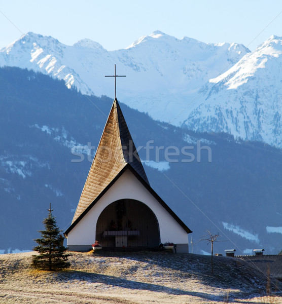 Small shrine in the mountains Stock photo © photocreo