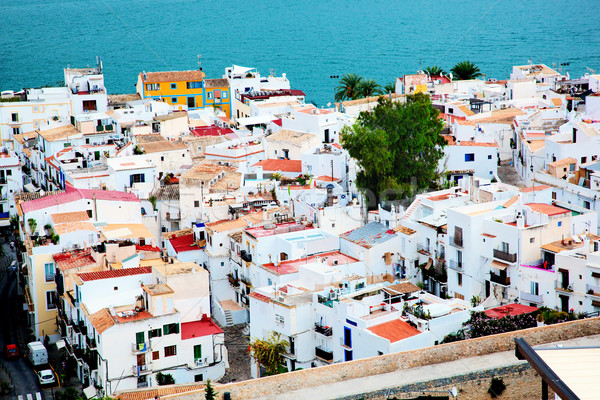 City architecture by the sea, Ibiza, Spain Stock photo © photocreo