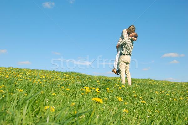 Couple having fun Stock photo © photocreo