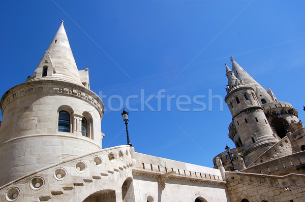 The great tower of Fishermen's Bastion Stock photo © photocreo