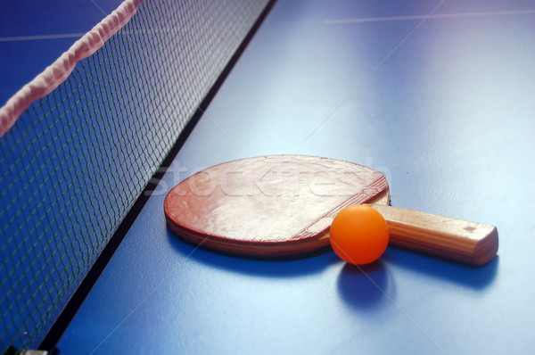 table tennis Stock photo © photocreo