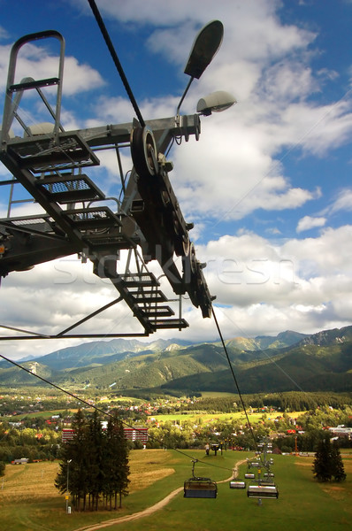 A chair-lift Stock photo © photocreo