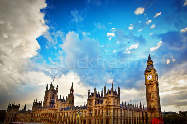 London, the UK. Big Ben, the Palace of Westminster Stock photo © photocreo