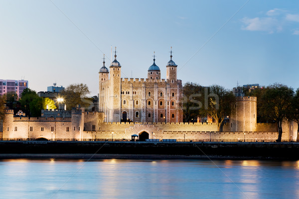 The Tower of London, the UK. The Royal Palace and Fortress at the evening Stock photo © photocreo