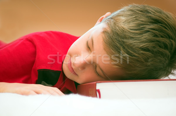 Stock foto: Studium · Papier · Gesicht · home