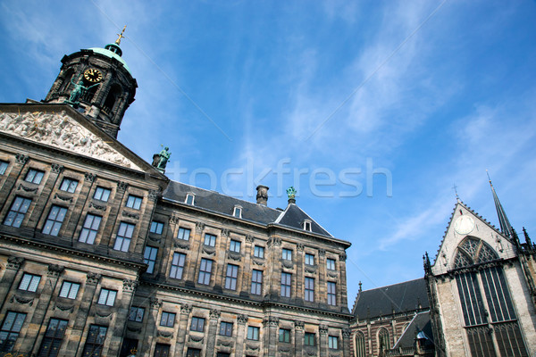 Royal Palace in Amsterdam Stock photo © photocreo