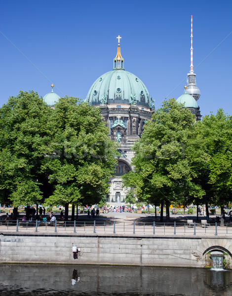Berlin Catherdral and TV Tower, Berlin, Germany. Stock photo © photocreo