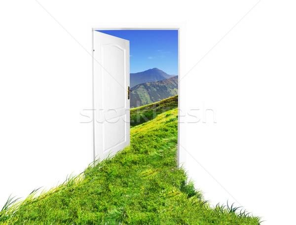 Door to new world Stock photo © photocreo