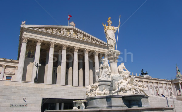 Austrian Parliament Building in Vienna Stock photo © photocreo