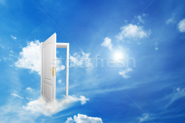 Stock foto: Tür · neue · Welt · Hoffnung · Erfolg · Weg