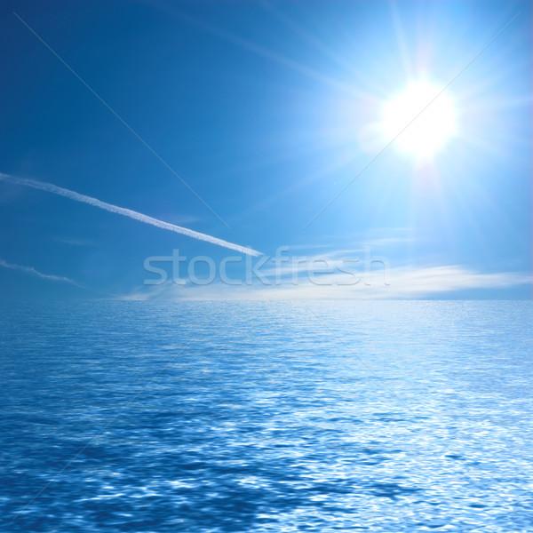 Sunny ocean Stock photo © photocreo