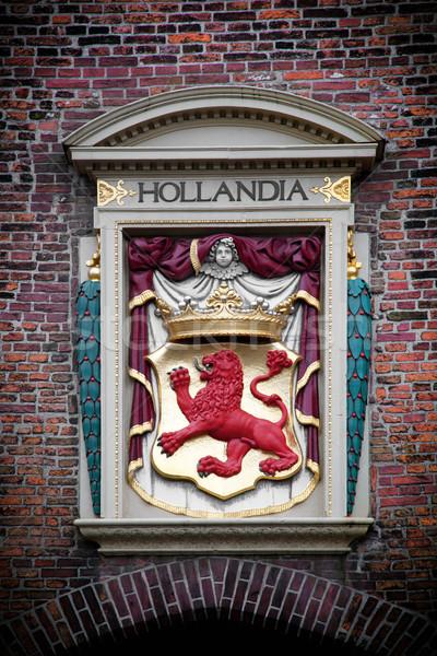 Hollandia sculpture. The Hague, Netherlands  Stock photo © photocreo