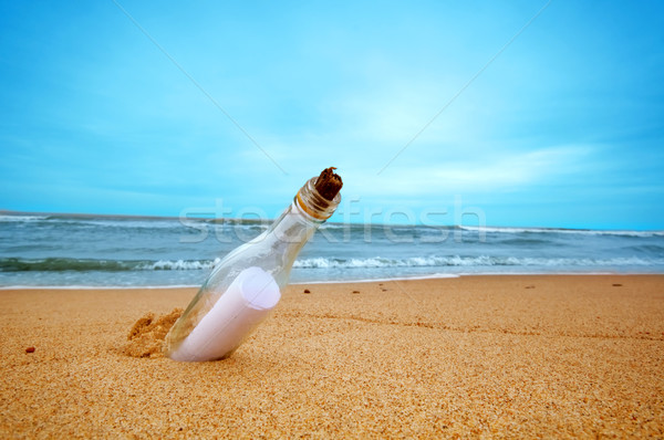 Message in the bottle Stock photo © photocreo