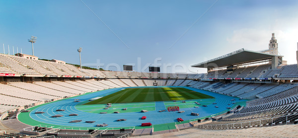 Olympic stadium in Barcelona, Spain Stock photo © photocreo