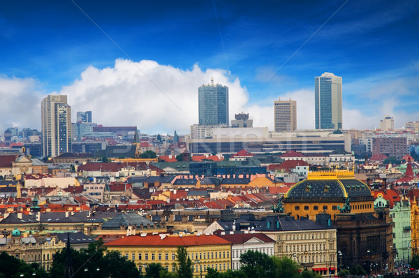 Prague. View from Hradcany Stock photo © photocreo