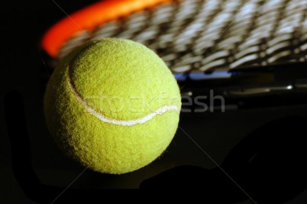 Tennis equipment Stock photo © photocreo