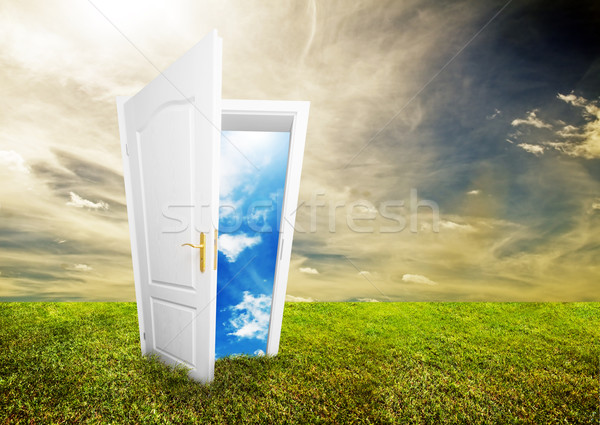 Open door to new life Stock photo © photocreo