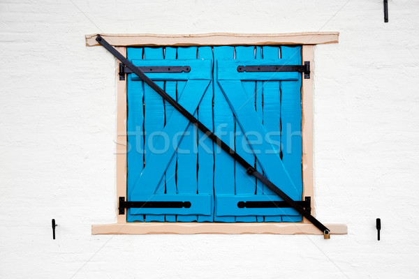 Old retro window with shutters Stock photo © photocreo