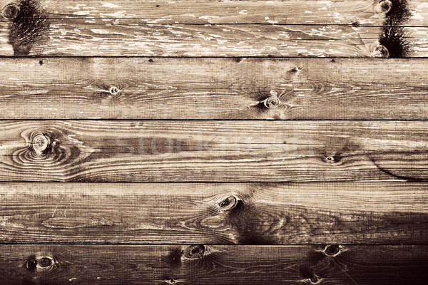 Grunge rustic wood wall background. Stock photo © photocreo