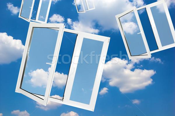 Windows to new world Stock photo © photocreo