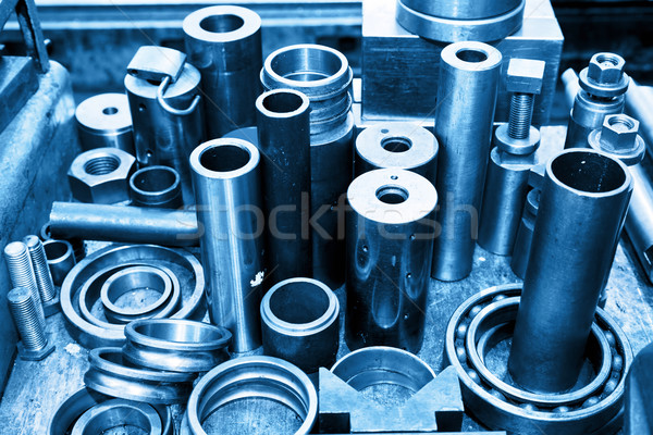Staal tools workshop industrie industriële technologie Stockfoto © photocreo
