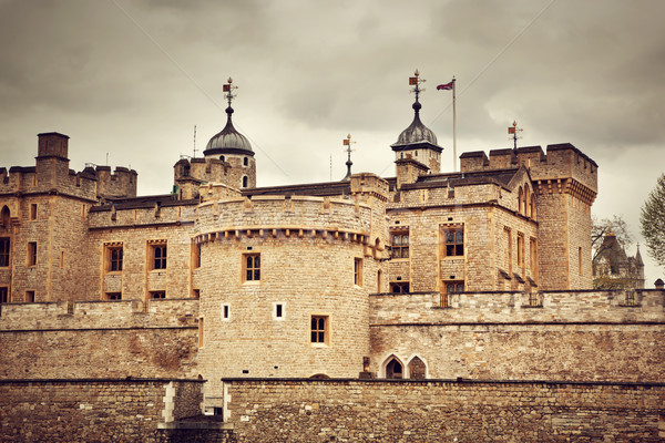 The Tower of London, the UK. The historic Royal Palace and Fortress Stock photo © photocreo