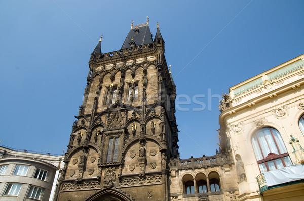 Prag toz kapı belediyeye ait ev Bina Stok fotoğraf © photocreo