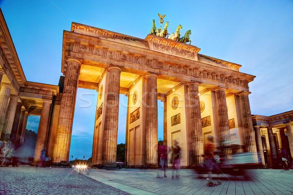 Brandenburg Gate, Berlin, Germany Stock photo © photocreo