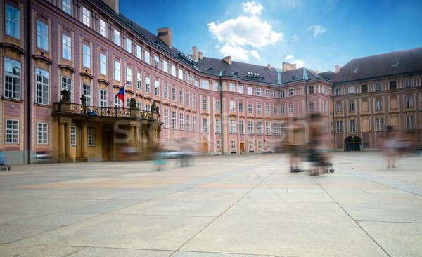 Prague's castle, 3rd yard. Stock photo © photocreo