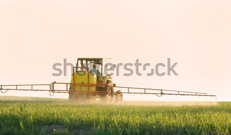 Spraying the Crop Stock photo © photocreo