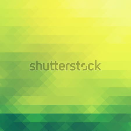 Nature, green theme in diamonds pattern. Background Stock photo © photocreo
