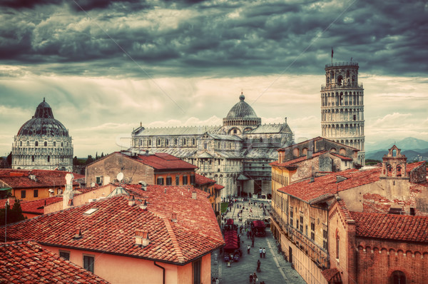 Cattedrale torre panorama unico Foto d'archivio © photocreo
