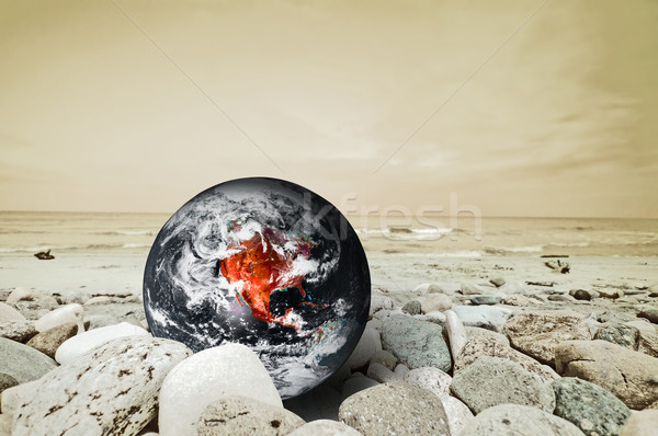 Earth disaster Stock photo © photocreo