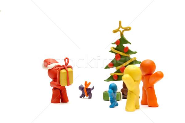 FAMILY CHRISTMAS Stock photo © photocreo