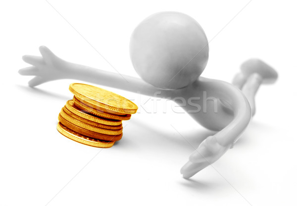 Human figure and money Stock photo © photocreo