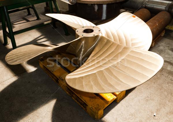 Nehéz ipari alkotóelem műhely ipar gyár Stock fotó © photocreo