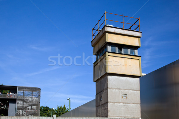 Berlin Wall Memorial, a watchtower in the inner area Stock photo © photocreo