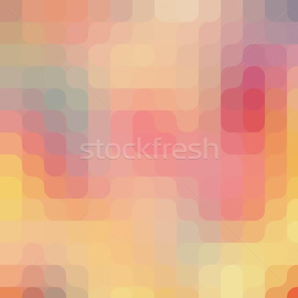 Pixel arte pattern colorato moderno vintage Foto d'archivio © photocreo