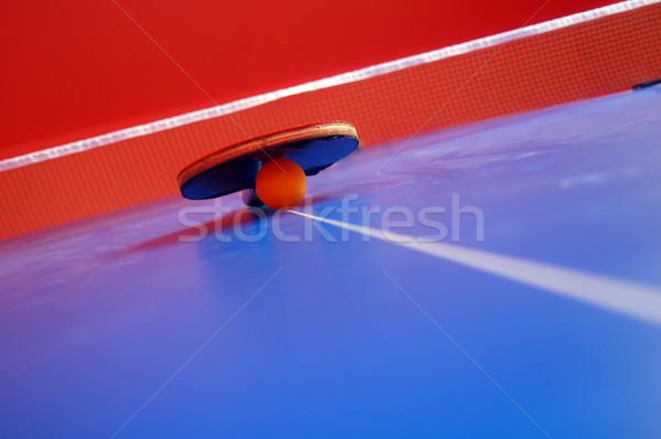 table tennis Stock photo © photocreo